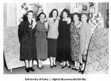 KMA radio homemakers at Mayfair Auditorium for special radio program, Shenandoah, Iowa, September 1950