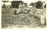 Gravestone for Beulah Arnette, daughter of J.M. &  L.A. Thompson, Thorpe, Iowa, 1905