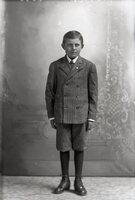 Boy in short pants