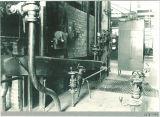 Boiler inside the power plant, The University of Iowa, 1950s