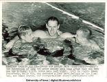 Medley swimming team champions, The University of Iowa, 1949
