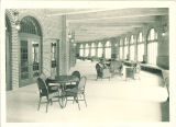 Sunporch lounge in the Iowa Memorial Union, the University of Iowa, January 1926