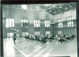 Women's gym class, The University of Iowa, 1919