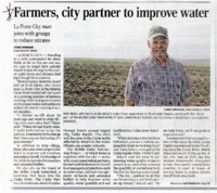 Farmers and City Partner To Improve Water