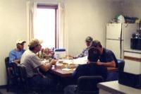 NRCS contractors working on building remodel