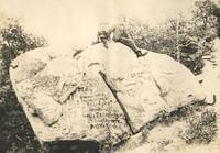 Man & Child on Large Rock
