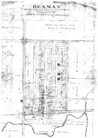 Plat Map of Beaman, 1911