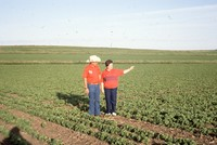 Quad State Award winners Frank and Marcia Escue farm.
