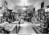 Gibb's Drug Store interior, Iowa City, Iowa, 1939