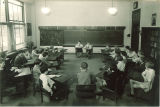 Students giving a report, The University of Iowa elementary school, January 22, 1932