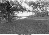 Iowa River view, Iowa City, Iowa, between 1925 and 1930