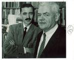 English professors Murray and Baker, The University of Iowa, 1960s