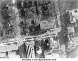 Law building aerial view, Iowa City, Iowa, 1923