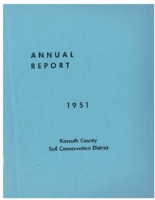 1951 Kossuth County Soil and Water Conservation District Annual Report