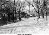 Ries family home, Iowa City, Iowa, December 3, 1937