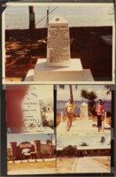 Photos of the Memorial Markers and compound at Palawan, Philippines.