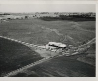 Strip cropping on the Johnson farm.