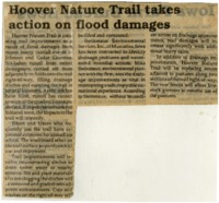 Hoover Nature Trail Takes Action On Flood Damages