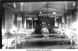 W.F. Pack Ward, University Hospital, The University of Iowa, 1900s