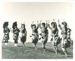 Scottish Highlander dancers, The University of Iowa, 1964