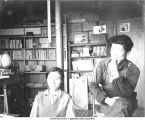 Leader and his wife, Hokkai Nojo communal farm, Hokkaido, Japan, 1965