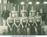 Men's gymnastics team, The University of Iowa, 1920s