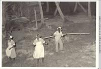 Carmen center in uniform in Tobago