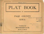 Plat book of Page County, Iowa