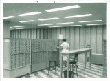 Card catalog in Main Library, the University of Iowa, 1960s