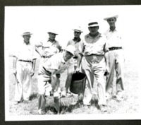 Six Men taking Soil Samples