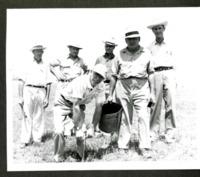 Six Men taking Soil Samples