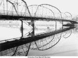 Park Road Bridge, Iowa City, Iowa, 1940s