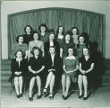 Female pharmacy students, The University of Iowa, 1940s