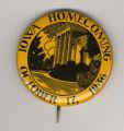 Homecoming badge, October 17, 1936