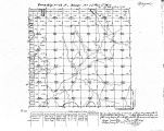 Iowa land survey map of t068n, r023w