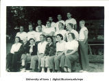 American Red Cross Wisconsin Aquatic School participants, Oconomowoc, Wis., August 1944
