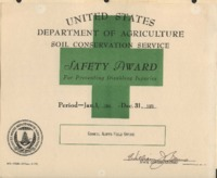25 Year Safety Award for preventing disabling injuries.