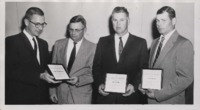 Awarding Soil Conservation Certificates.