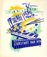 Constant Van Dyk Bookplate