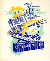 Constant Van Dyk Bookplate