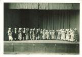 Theater production at University Elementary School, The University of Iowa, 1950s?