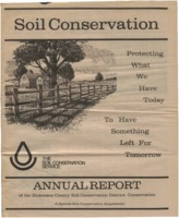 Dickinson County Soil Conservation District Annual Report - 1979-80.