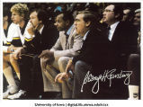 George Raveling, basketball coach, The University of Iowa, 1983