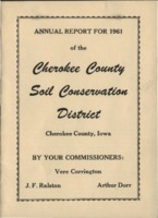 Cherokee County Soil Conservation District Annual Report - 1961