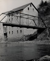 Mill - Motor Mill and bridge 1970