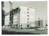Phillips Hall under construction, The University of Iowa, July 25, 1963
