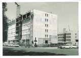 Phillips Hall under construction, The University of Iowa, July 25, 1963