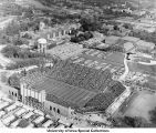 Iowa (Kinnick) Stadium, The University of Iowa, between 1960 and 1964
