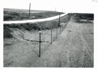Vertical riser attached to county road culvert, 1965