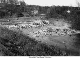 Iowa River flood plain, Iowa City, Iowa, November 25, 1933